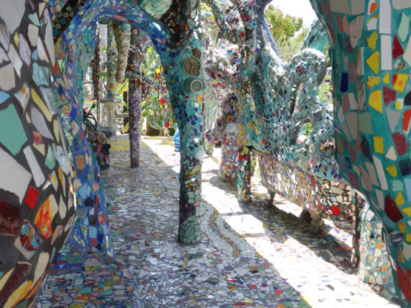 Venice Mosaic House (Photo: Atlas Obscura)