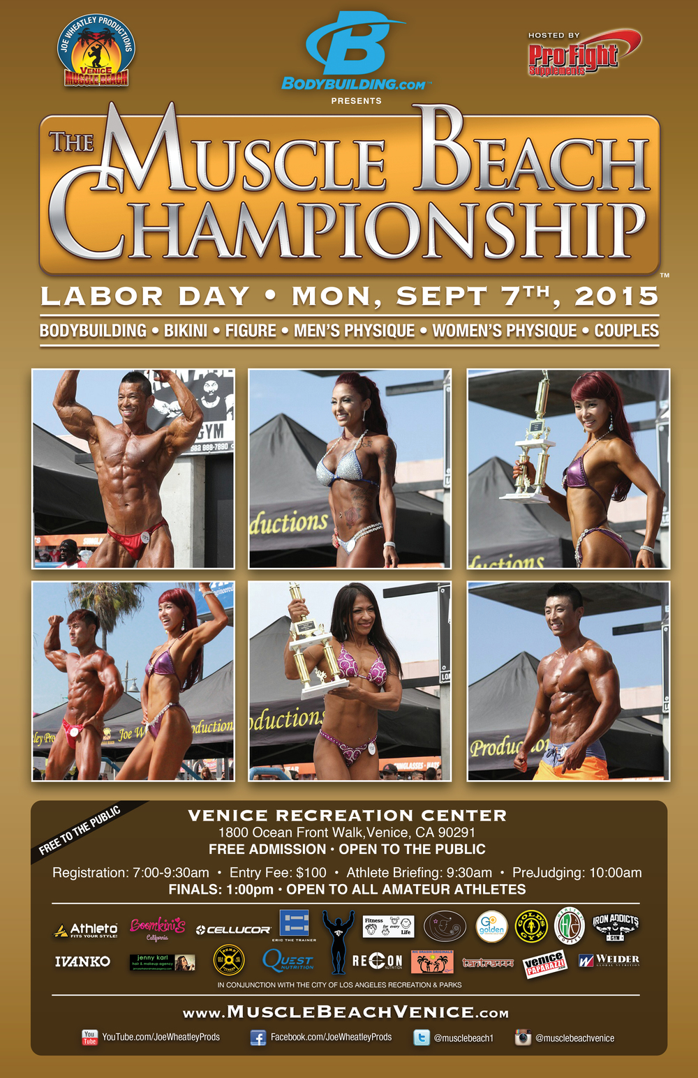 Muscle Beach Championships 2015