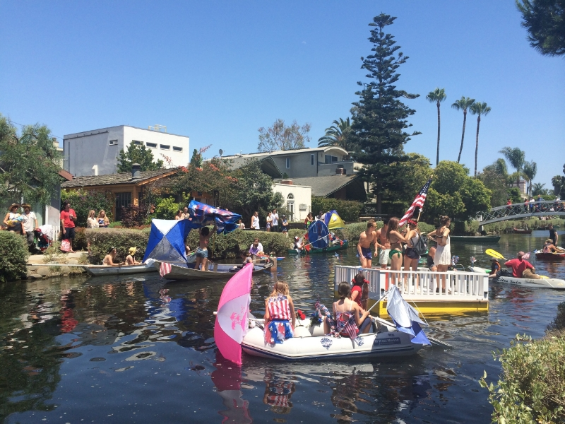 Venice Canals 4th of July