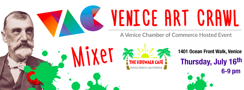 Venice Art Crawl July Mixer