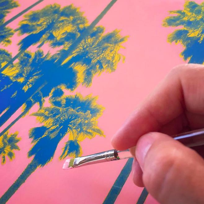 Jason Hill Debuts Dreamscapes of the Venice Art Walls — Lincoln & Rose
