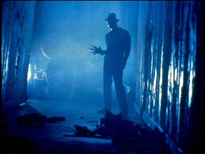 Scene from Nightmare On Elm Street