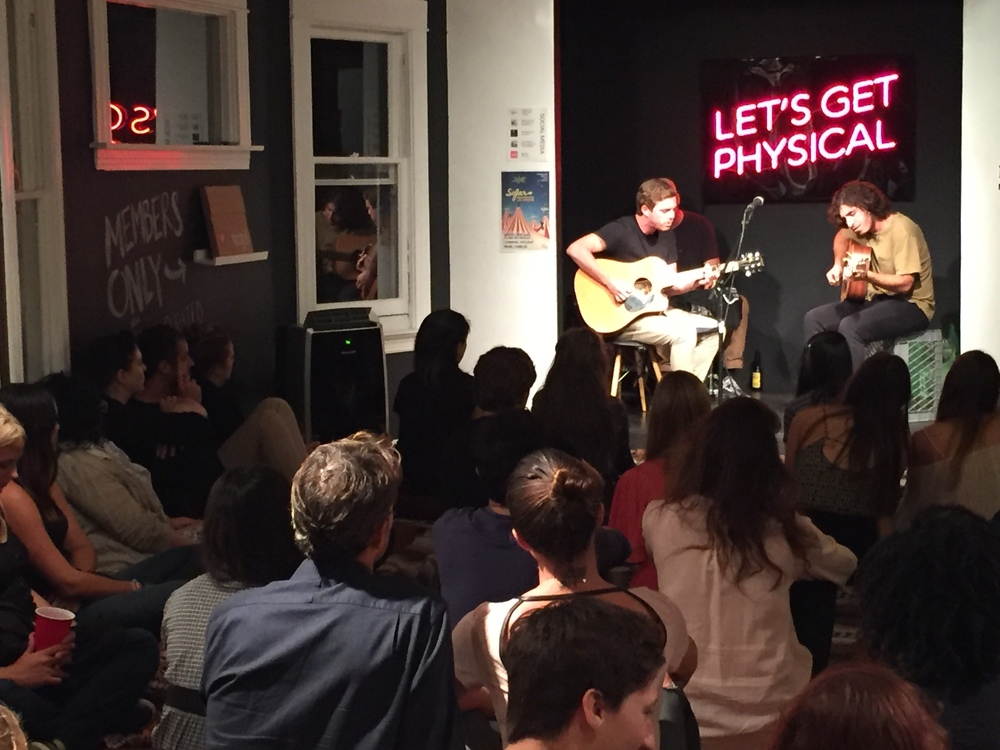 Criminal Hygiene performs at Sofar LA's Venice pop-up show at VNYL Records on Abbot Kinney.