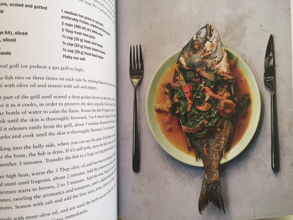 Cookbook recipes for fish