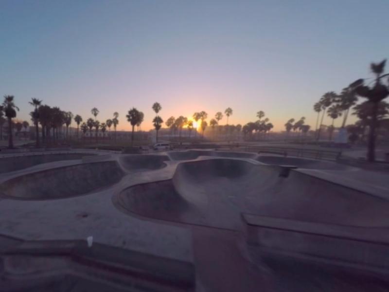Venice Beach Drone Video