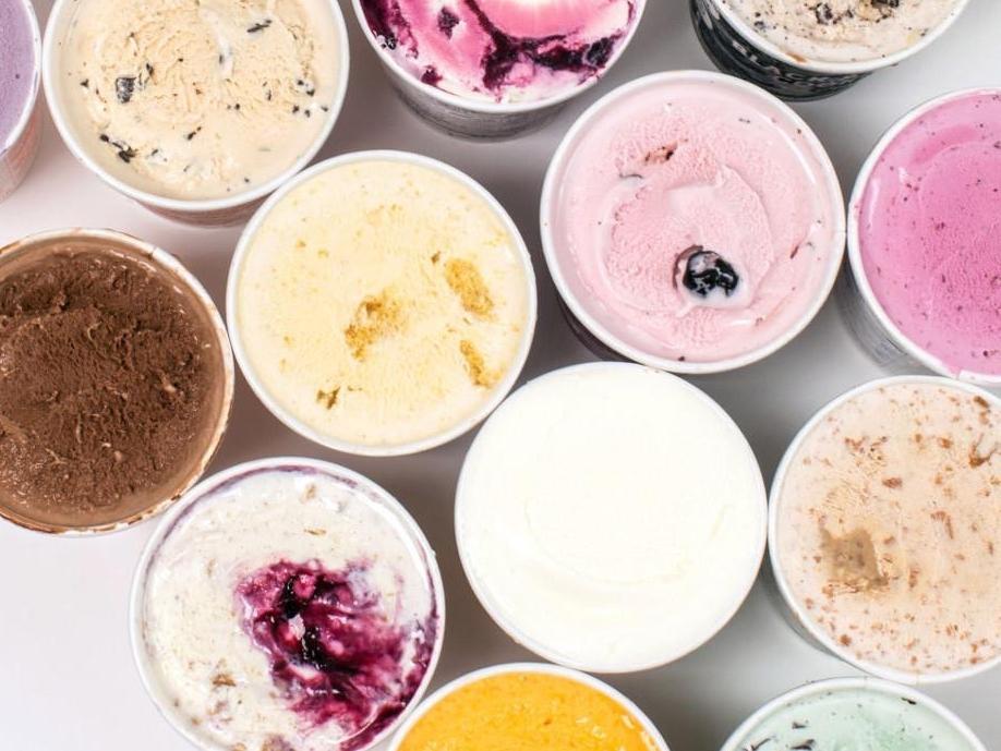 rose ice cream venice - photo#38