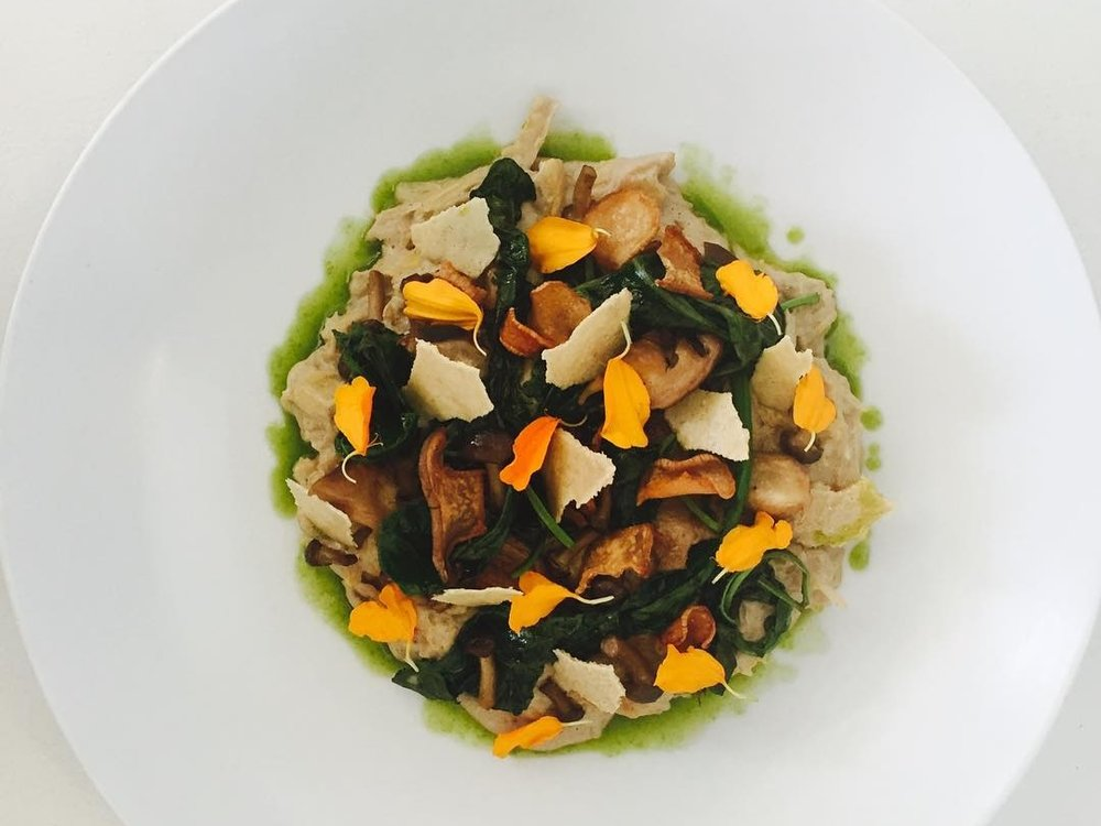 New on the fall menu at Plant Food + Wine. (Photo by chef Scott Winegard)