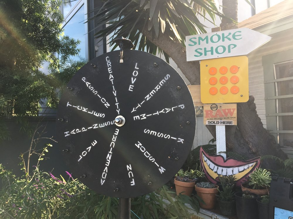 Murez' Wheel of Fortune on Abbot Kinney. ( Photo by Erin Behan )