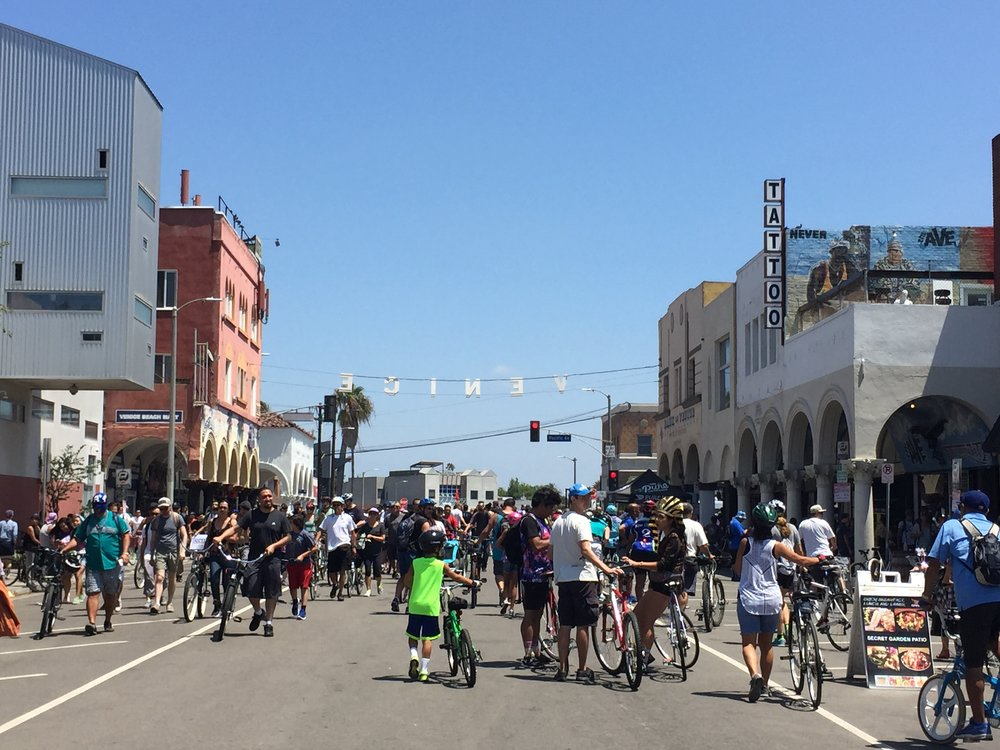 CicLAvia Culver City Meets Venice, August 2015. (Photo by Nicole Urso Reed)
