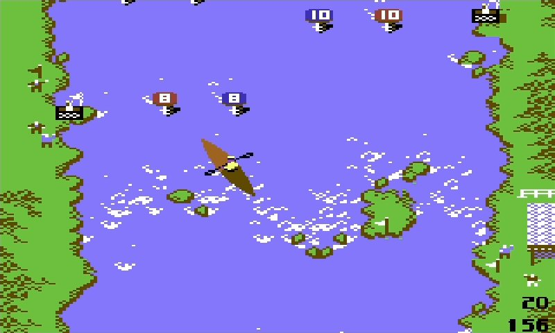 Ever play  Toobin' ? I reckon it was inspired by this.