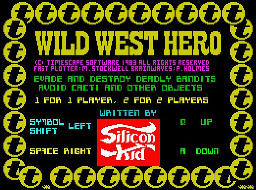 See? Robotron 2084. Berzerk doesn't even have a title screen to rip off!