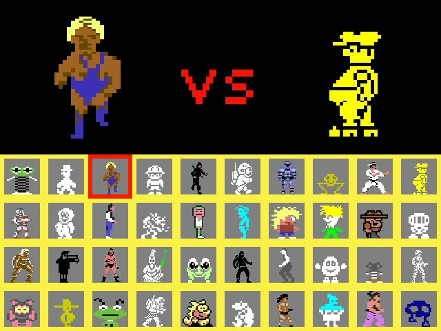 Look at that roster of characters! But there are so many more that could be included...