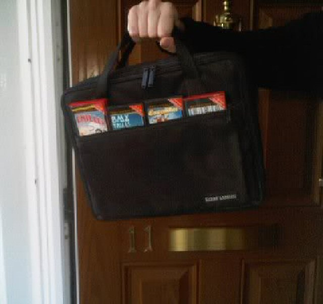 The only bag you need to see outside number 11 today.