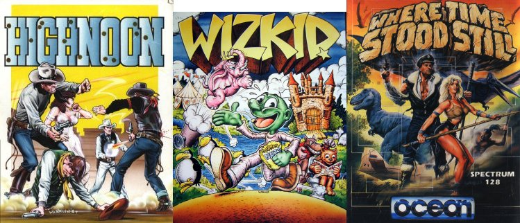 Just some of the many Bob Wakelin classics.
