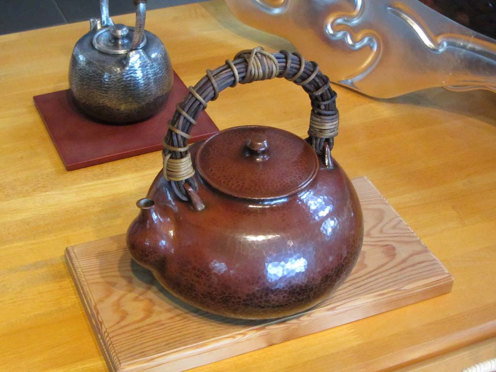 A teapot Ryota made.