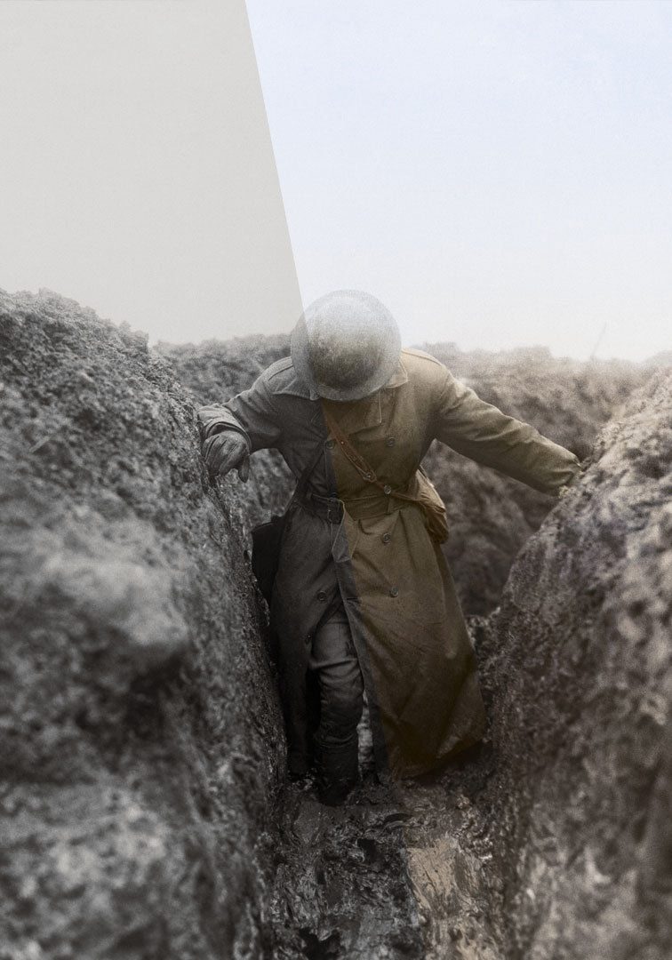 First World War Galleries - Imperial War Museums LondonISO ExhibitionsAs part of a £40 million pound transformation, the First World War Galleries now include a trench experience featuring full 1:1 sized colorized photographs from the IWM archives •