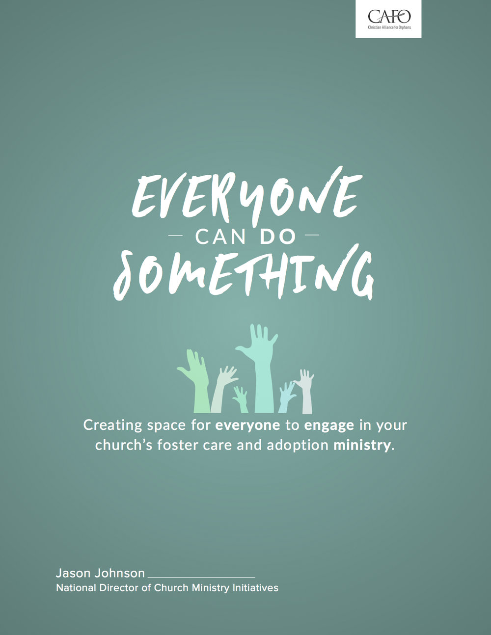 A primer on building a church culture of foster care and adoption where EVERYONE has a role to play.