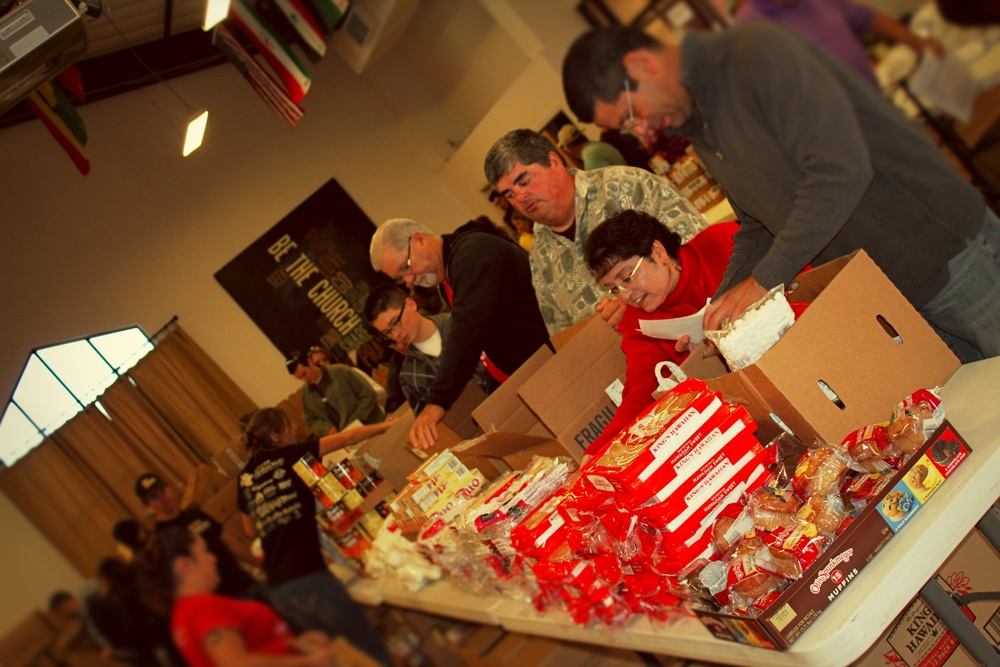 [MPCC Church Beyond The Walls: Thanksgiving Food Boxes]