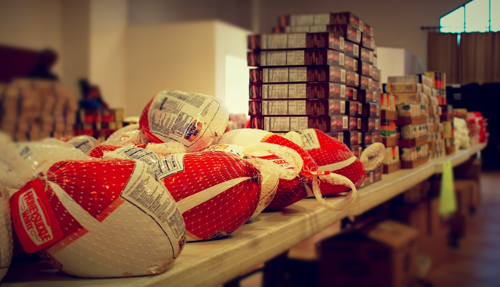 2012 | Church Beyond The Walls : Thanksgiving Food Box Drive