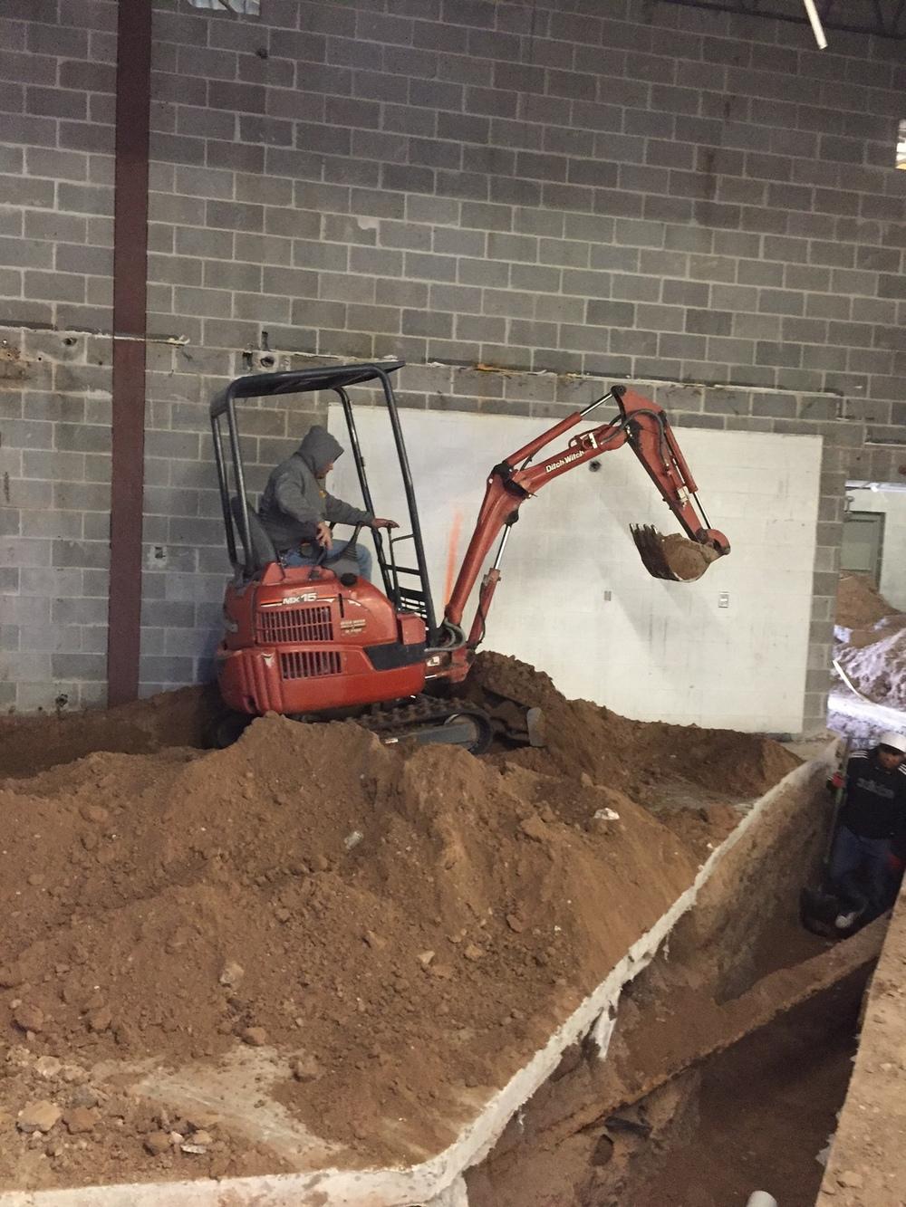 Trenching the Plumbing