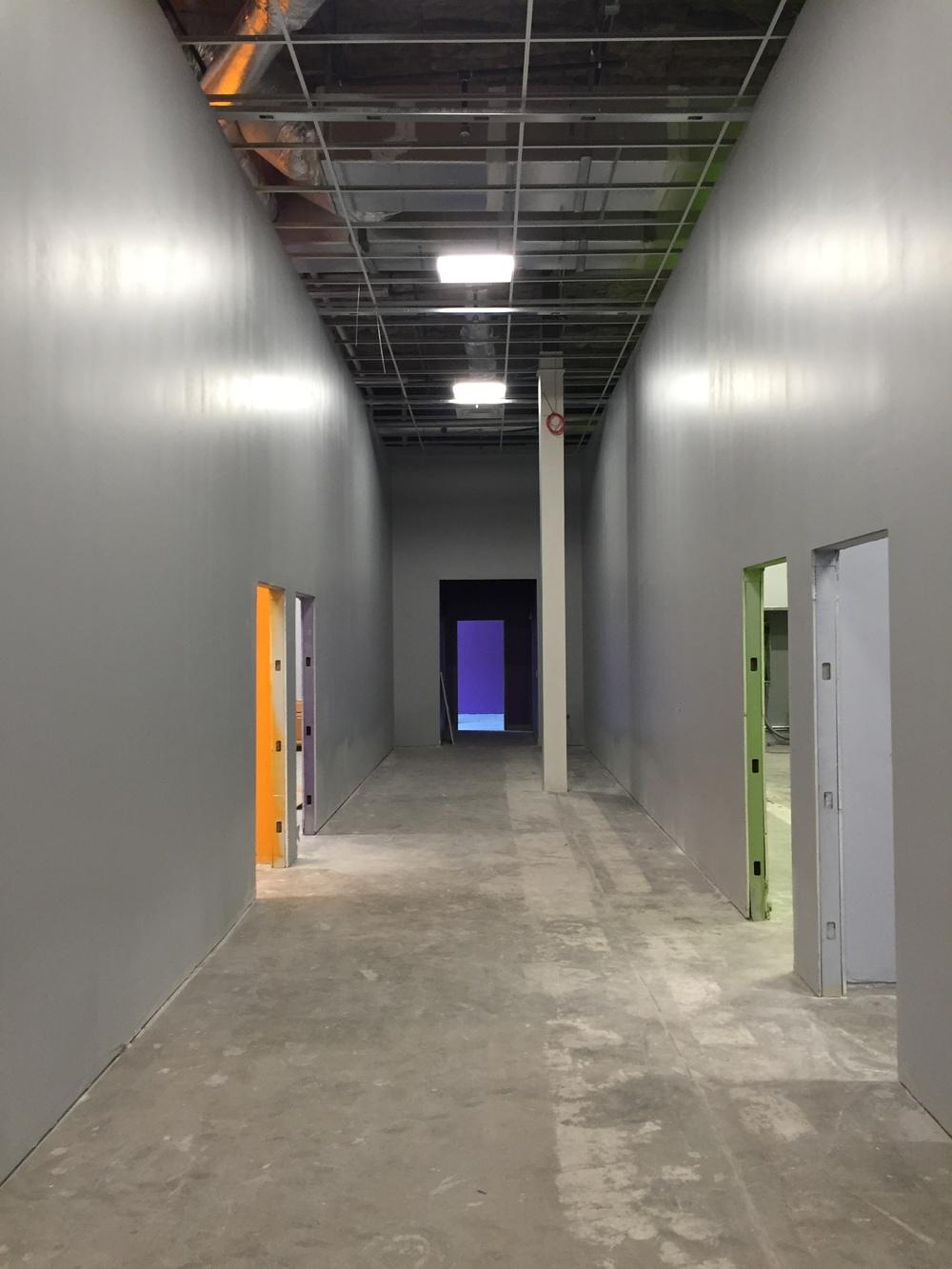 Children's Ministry Hallway