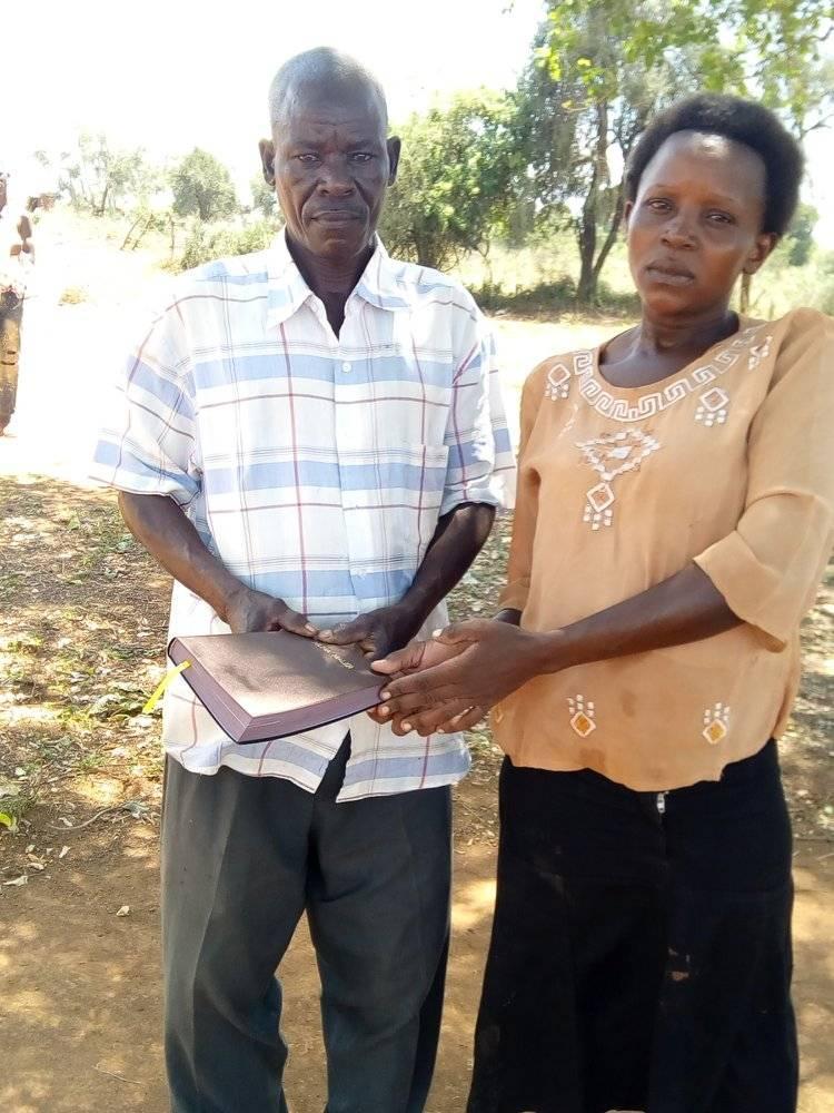 Amos Odhiambo Owur and Doreen Anyango Odhiambo