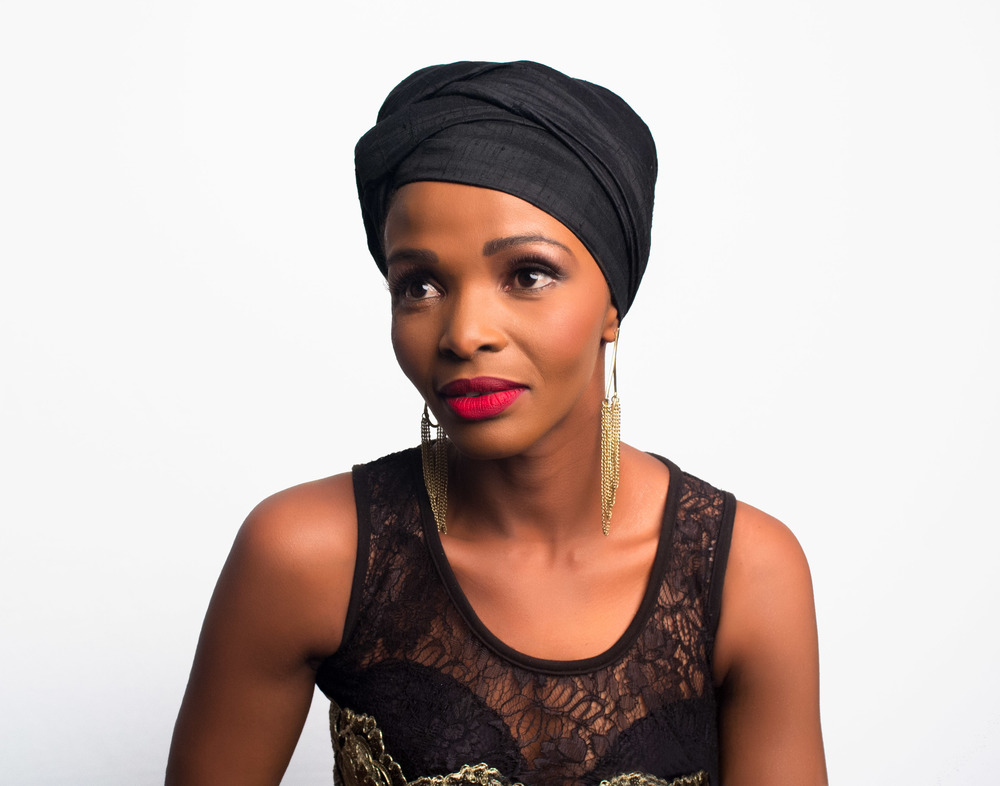 Simphiwe Dana, South African Singer: DIVAs Simply Singing Foundation 2013