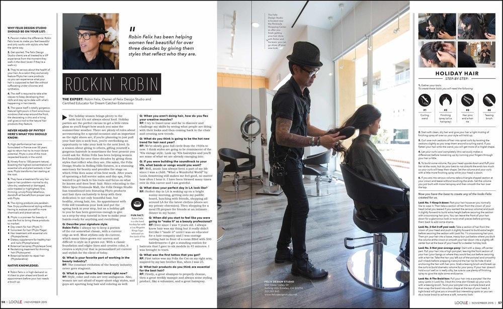 Hair Stylist: Robin Felix