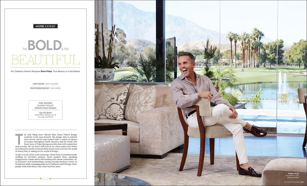 Dann Foley: Interior Designer
