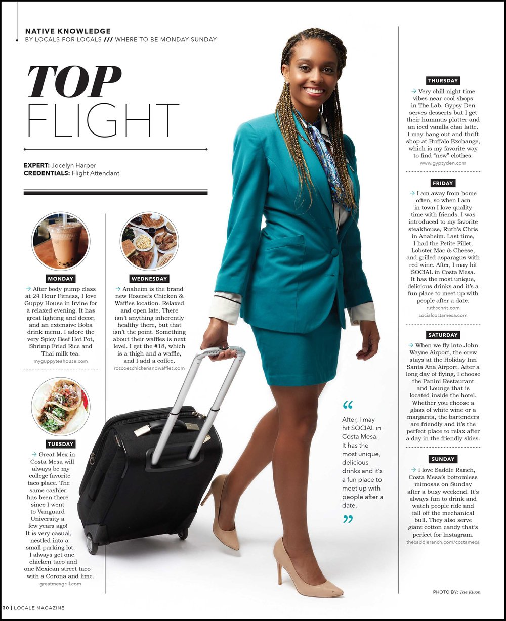 Jocelyn Harper: Flight Attendant
