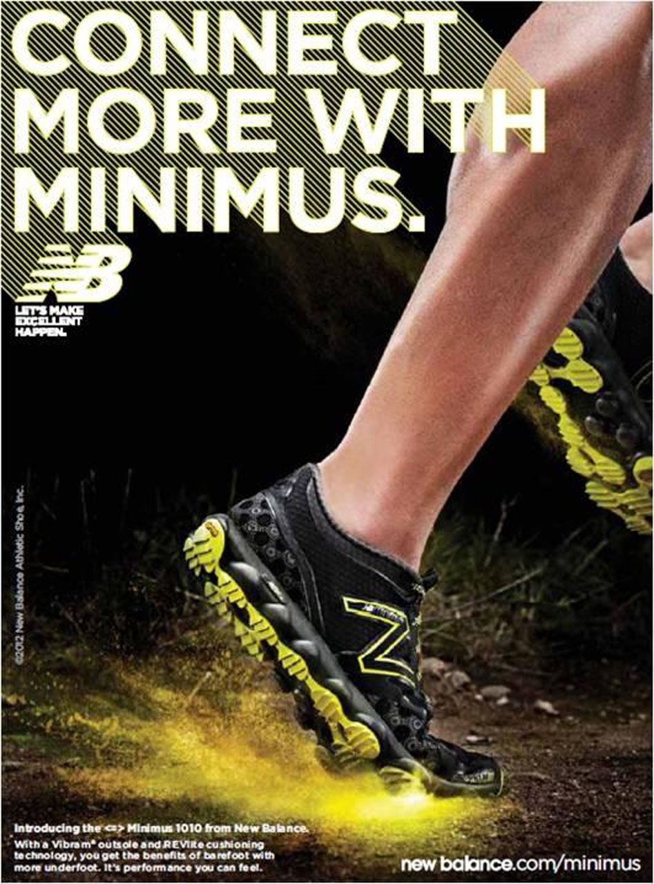 new balance running posters