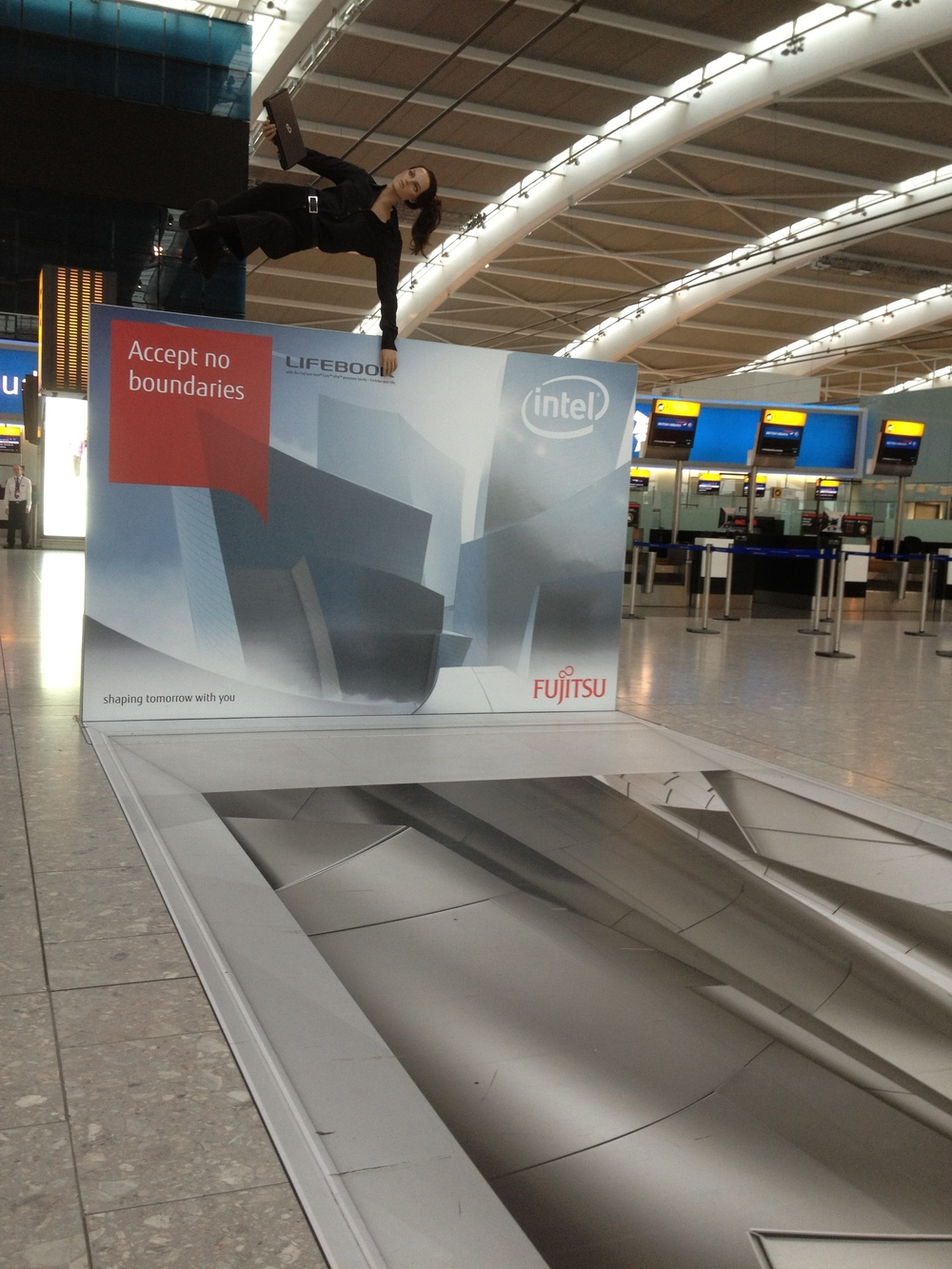 Installation in Heathrow Airport