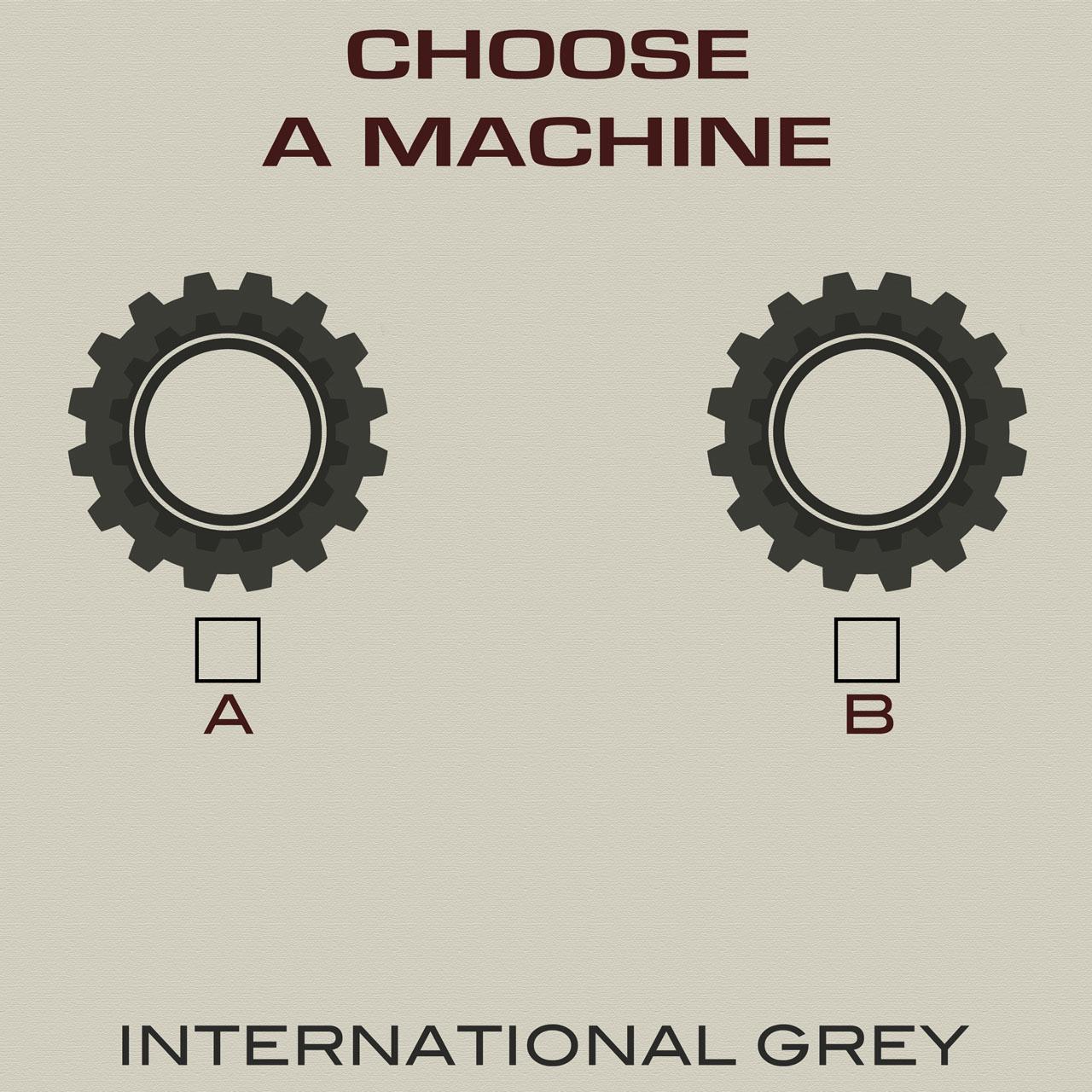Choose a Machine