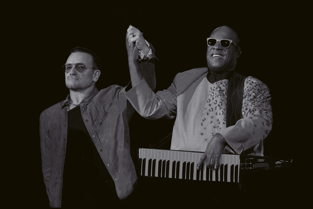 Bono & Stevie Wonder