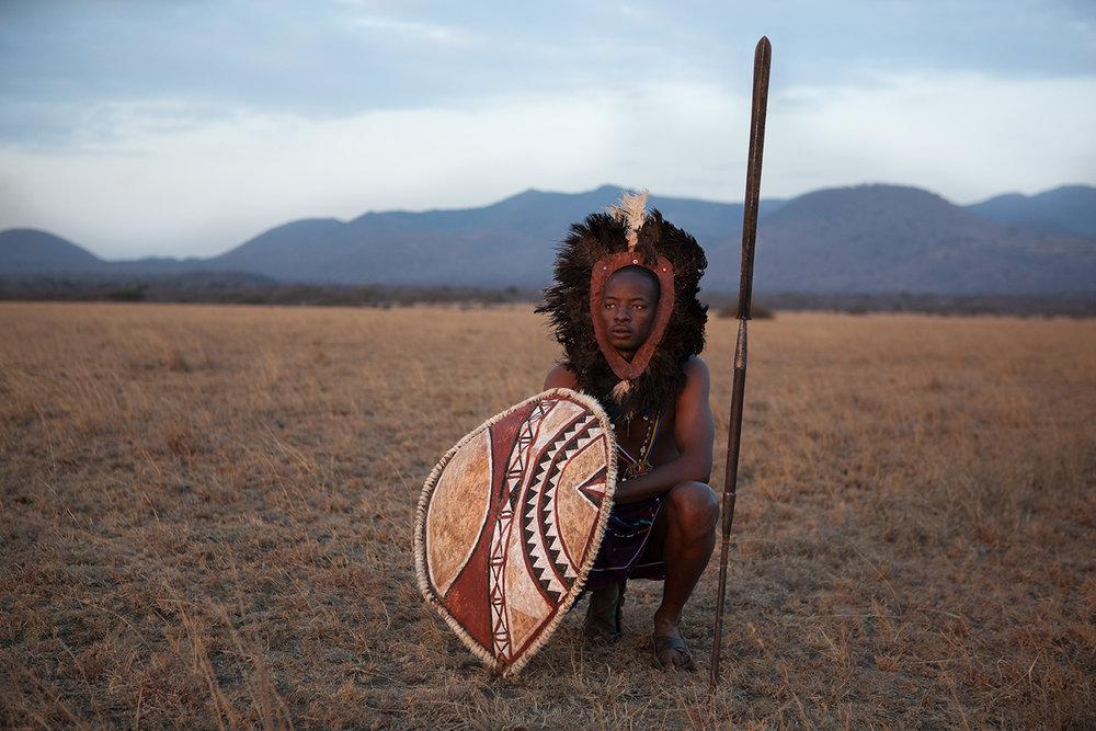 """Maasai Warrior"""
