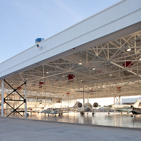 Opa-Locka Airport Hangar 102 Restoration