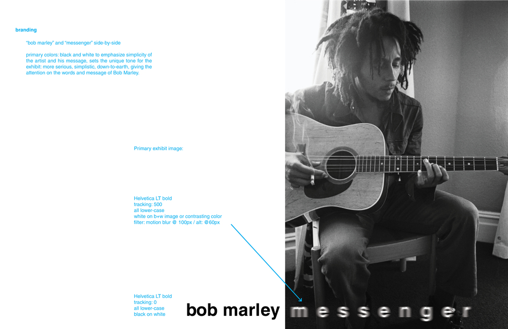 Bob Marley Messenger Exhibit