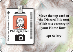 Photographer-Team Member Card