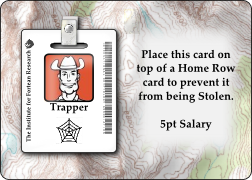 Trapper-Team Member Card