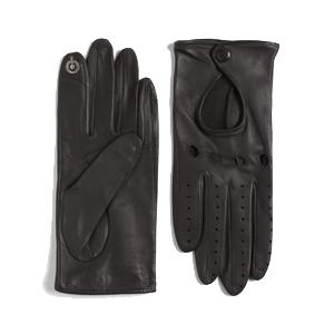Lord & Taylor deerskin driving gloves