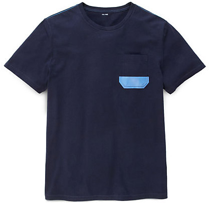Dipped Pocket T-Shirt by Jack Spade in Navy