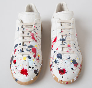 e2f67142a0 Maison Martin Margiela Splatter Paint Low Top Sneaker
