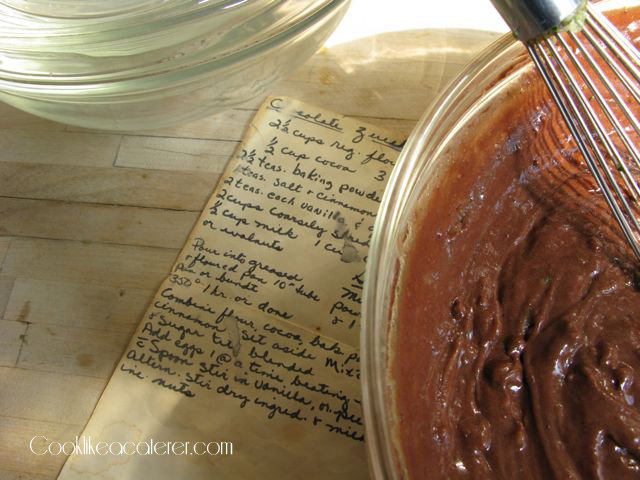 Turning hand written recipes into a book
