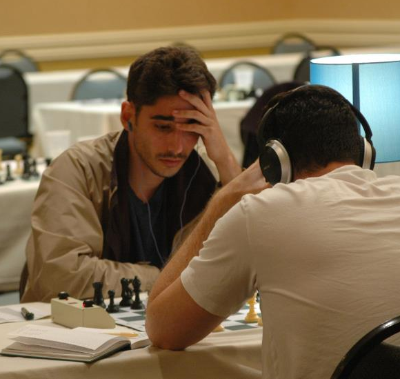Hard at work in the last round of the 2013 Space Coast Open.