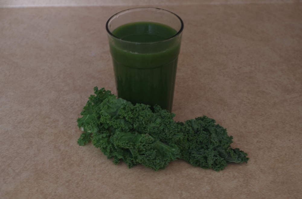 Grape Kale Juice