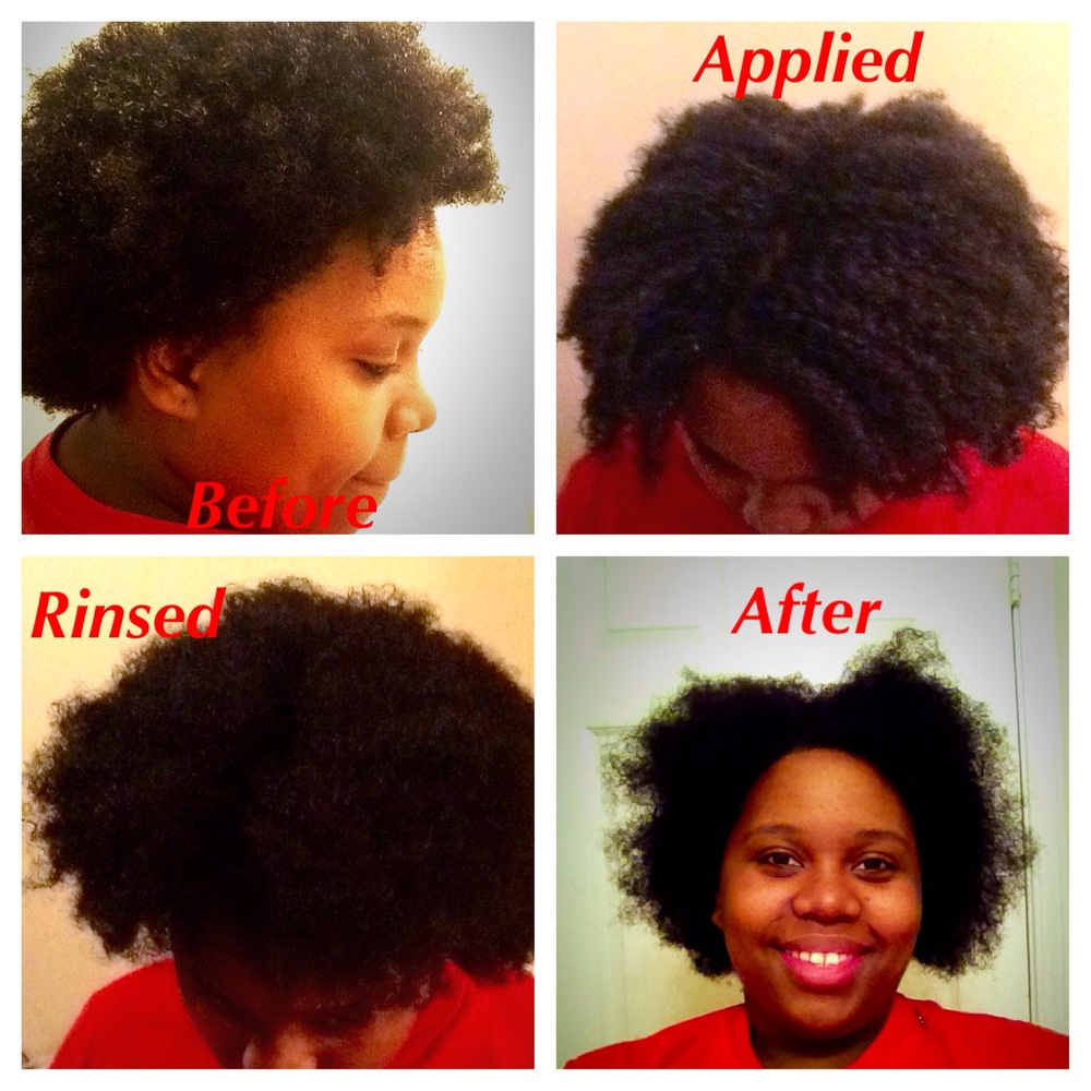 Texturizer In Natural Hair Before After