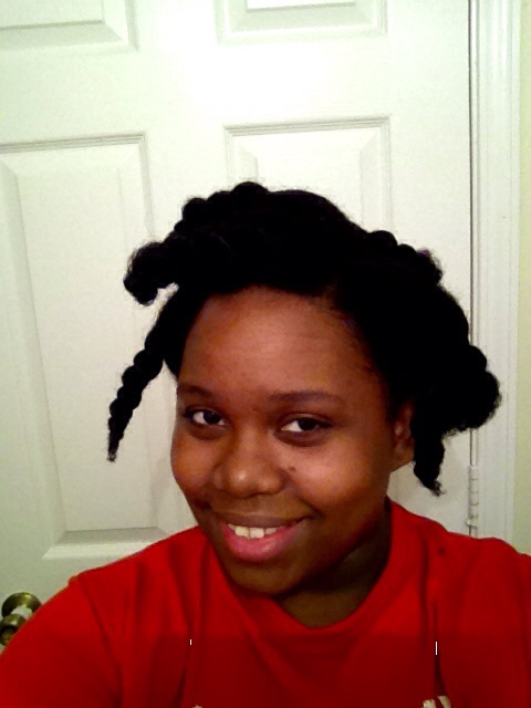 Cyd Marie with ten moisturize big twists