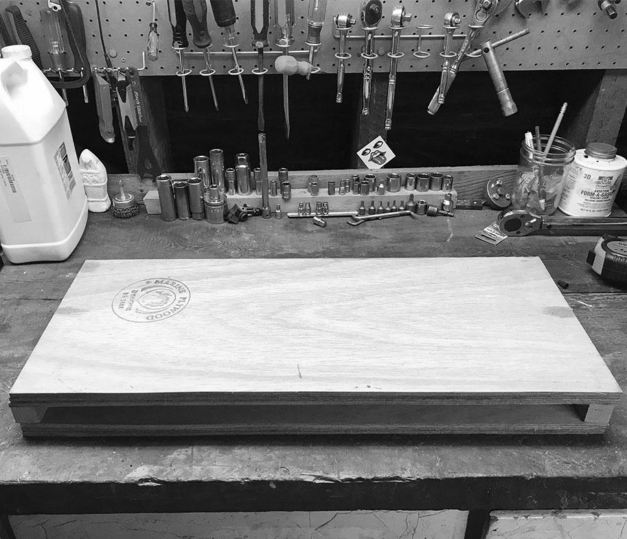 First centerboard case.