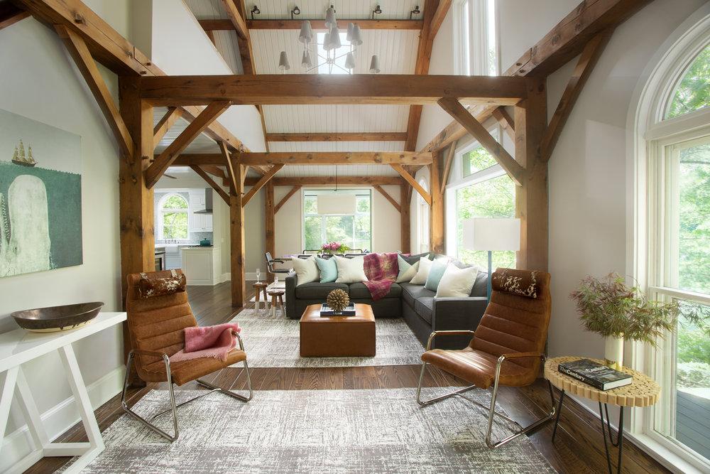 Modern Post & Beam Residence