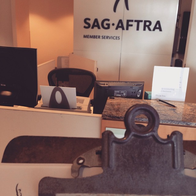 Chris is now a proud member of SAG-AFTRA. Hard work is paying off and this is just the beginning!!